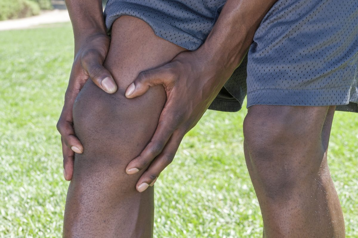 Pain from osteoarthritis of the knee