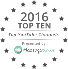 Massagetique.com Top 10 YouTube Channel Seal