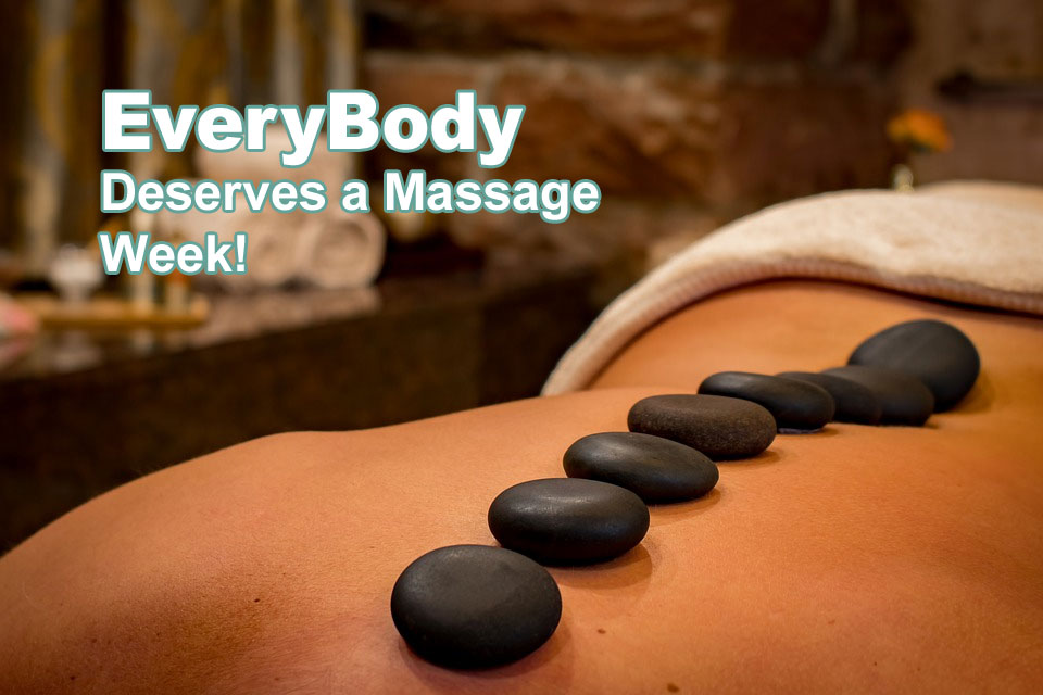 Ways to Celebrate EveryBody Deserves a Massage Week